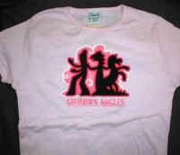 Gumby's Angles Babydoll T-Shirt Small Prickle Pokey New