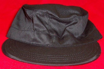 Black Combat Hat Ultra Force Rothco Size Medium New
