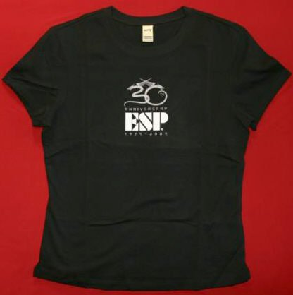 ESP Guitars Babydoll T-Shirt Black Size Small New