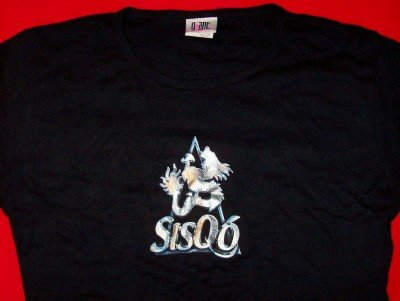 Sisqo Babydoll T-Shirt Dragon Logo Black One Size New