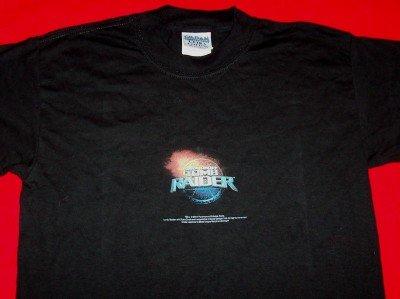 Tomb Raider T-Shirt Lara Croft Black Size Youth Large