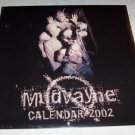 Mudvayne 2002 Concert Tour Calendar Photos New