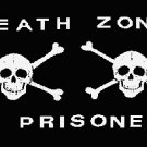 Pirate Death Zone Skull Flag Black 3' x 5' New