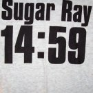 Sugar Ray T-Shirt 14:59 Logo Gray Size XL New