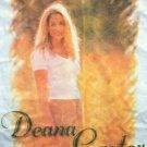 Deana Carter T-Shirt Flower Photo White Size XL New
