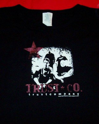 Trust Company Babydoll T-Shirt Black One Size New