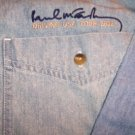 Paul McCartney Long Sleeve Denim Shirt Small US Tour