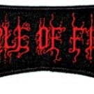 Cradle of Filth Iron-On Patch Red Letters Logo COF New