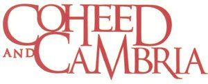 Coheed and Cambria Vinyl Cut Sticker Red Letters Logo