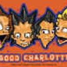 Good Charlotte Vinyl Sticker Cartoon Band Logo New