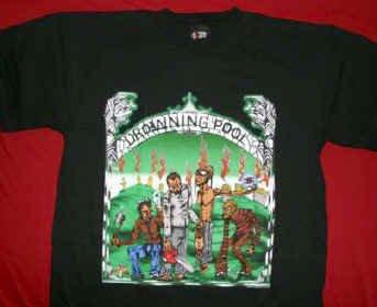 Drowning Pool T-Shirt Texas Metal Massacre Black Size XL