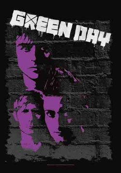 Green Day Poster Flag Painted Wall Logo Tapestry