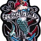 Flogging Molly Iron-On Patch Mermaid Logo