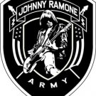 The Ramones Iron-On Patch Johnny Ramone Army