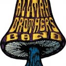 Allman Brothers Iron-On Patch Mushroom Logo