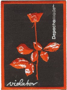 Depeche Mode Iron-On Patch Violator Logo
