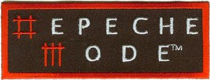 Depeche Mode Iron-On Patch Letters Logo