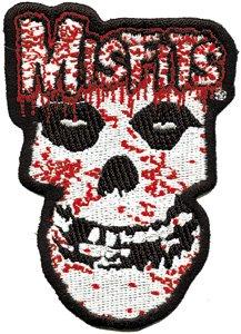 Misfits Iron-On Patch Bloody Skull Logo