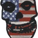 Misfits Iron-On Patch American Skull Logo