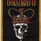 Rush Iron-On Patch Farewell To Kings Logo