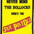 Sex Pistols Iron-On Patch Never Mind The Bollocks