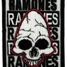 The Ramones Iron-On Patch Pinhead Logo