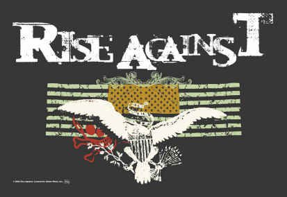 Rise Against Poster Flag Double Flags Tapestry