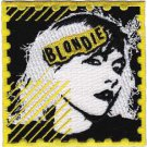 Blondie Iron-On Patch Debbie Harry Stamp Logo