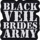 Black Veil Brides Iron-On Patch Army Logo