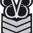 Black Veil Brides Iron-On Patch Stripes Logo