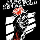 Avenged Sevenfold Poster Flag Rose Hands Tapestry