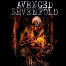 Avenged Sevenfold Poster Flag Fire Bat Tapestry