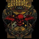 Avenged Sevenfold Poster Flag Death Crest Tapestry