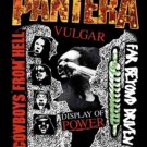 Pantera Poster Flag 3 Albums Tapestry