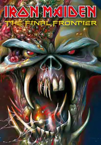 Iron Maiden Poster Flag The Final Frontier Tapestry