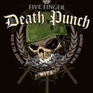 Five Finger Death Punch Poster Flag Warhead Tapestry New