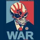 Five Finger Death Punch Poster Flag War Logo Tapestry New