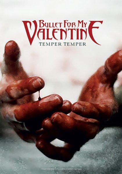 Bullet For My Valentine Poster Flag Temper Temper Tapestry