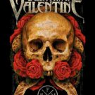 Bullet For My Valentine Poster Flag Serpent Roses Tapestry