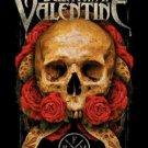 Bullet For My Valentine Poster Flag Serpent Roses Tapestry
