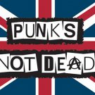 Punk's Not Dead Poster Flag Union Jack Tapestry