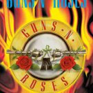 Guns n' Roses Poster Flag Circle Flames Tapestry