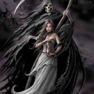 Anne Stokes Poster Flag Summon The Reaper Tapestry