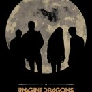 Imagine Dragons Poster Flag Howling Moon Tapestry New