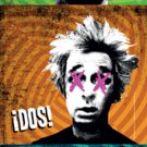Green Day Fabric Door Poster Uno Dos Tre