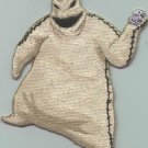 Nightmare Before Christmas Iron-On Patch Oogie Boogie Ghost