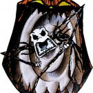 Nightmare Before Christmas Iron-On Patch Scary Jack