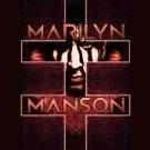 Marilyn Manson Poster Flag Cross Tapestry