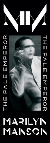 Marilyn Manson Fabric Door Poster The Pale Emperor