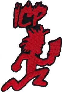Insane Clown Posse Iron-On Patch Red ICP Hatchet Man Logo